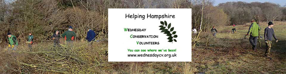 WEDNESDAY CONSERVATION VOLUNTEERS