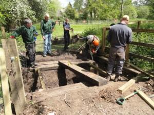 Rebuilding Bridge at Otterborne