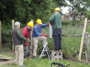 New Wildfowl cage for Manor Farm