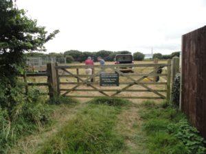 Cowes Lane Entrance